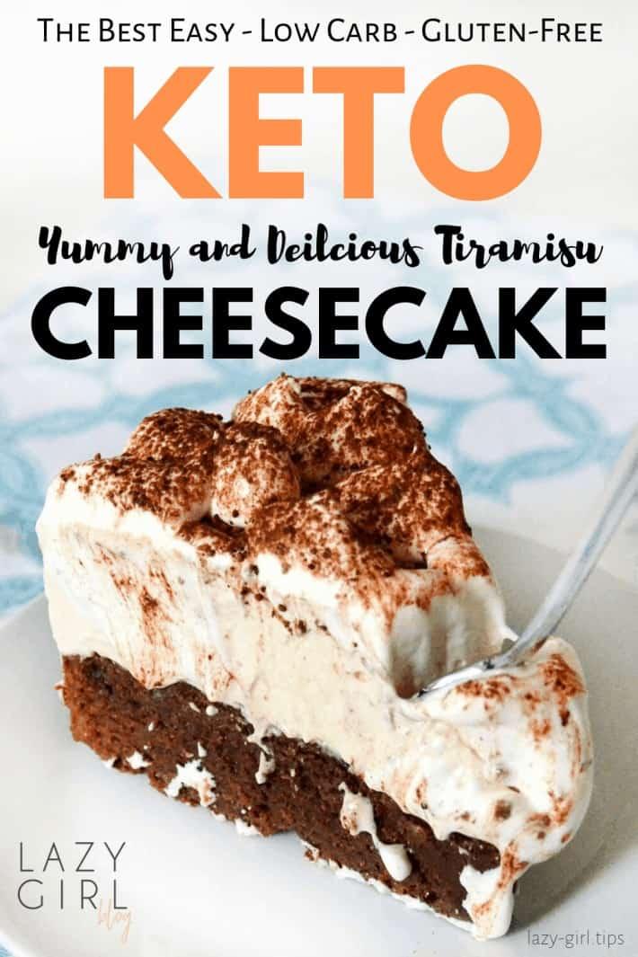 Best Keto Tiramisu Cheesecake